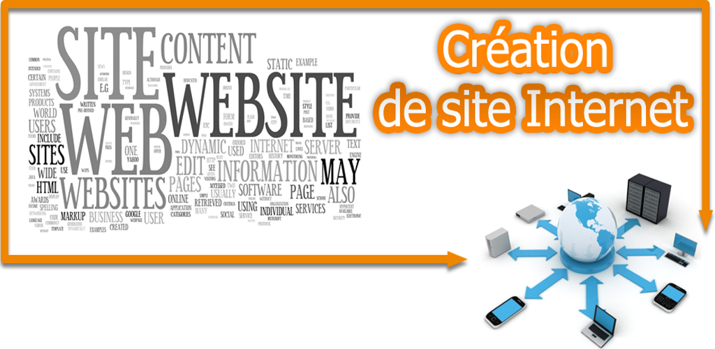 Création de site internet : joomla wordpress prestashop, newsletter et marketing web